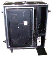 Laptop Lock-Up® Model LL-7D-07 ESD safe deployable cabinet: GSA